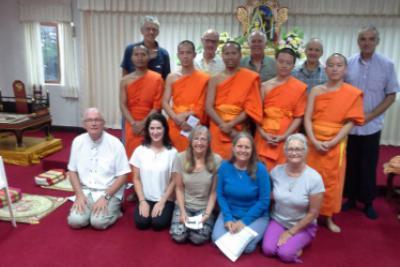 English-language Buddhist meeting Chiang Rai